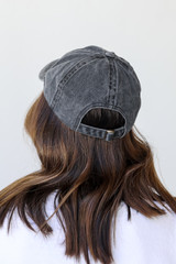 615 Embroidered Hat Back View