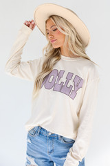Dolly Long Sleeve Tee Front View