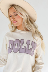 Ivory - Dolly Long Sleeve Tee from Dress Up
