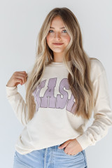 Ivory - Nash Long Sleeve Tee from Dress Up