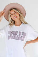 Close Up of the Dolly Tee