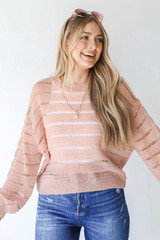 Blush - Loose Knit Sweater from Dress Up