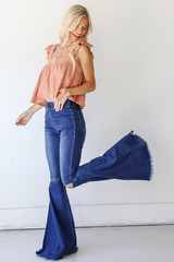 Flare Jeans Side View
