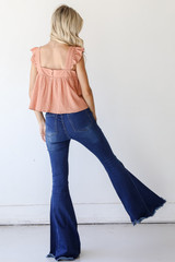 Flare Jeans Back View