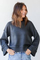 Blue - Sweater Front View