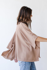 Oversized Blouse Side View