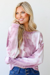 Blush - Cropped Tie-Dye Pullover from Dress Up