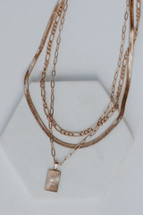 Gold - Layered Necklace from Dress Up