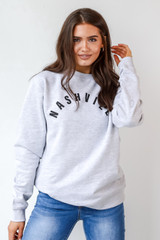 Nashville Pullover Front View