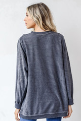 Dolly Corded Pullover Back View
