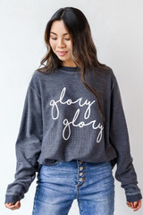 Black - Glory Glory Corded Pullover from Dress Up