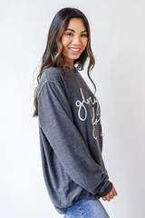 Glory Glory Corded Pullover Side View