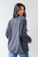 Glory Glory Corded Pullover Back View