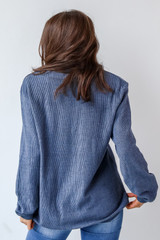 Chop Chop Corded Pullover Back View
