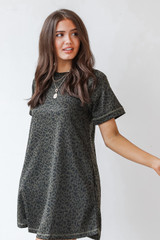 Olive - T-Shirt Dress from Dress Up