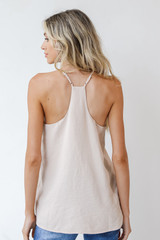 Tank in Ivory Back View