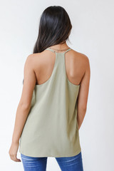 Tank in Sage Back View
