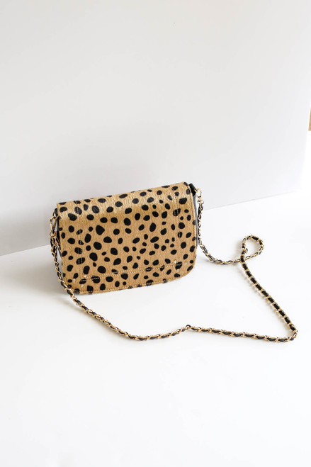 Leopard - Cheetah Print Crossbody Bag