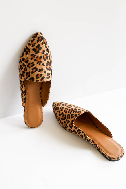 Leopard - Slip On Loafers