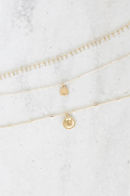 Gold - Layered Necklaces