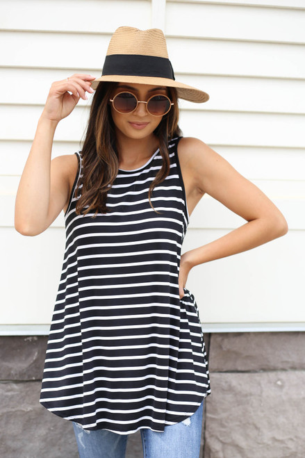 Harmony Striped Tank