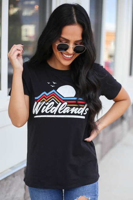 Black - Wildlands Graphic Tee