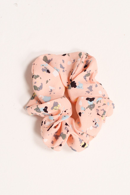 Blush - Speckled Scrunchie