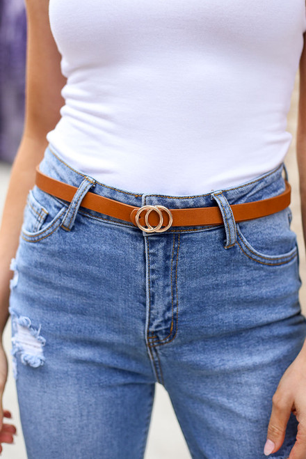 Multi - 3 Piece Skinny Belt Set