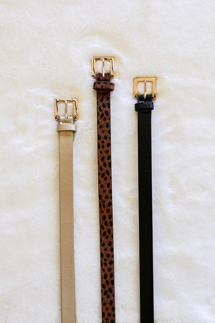 Leopard - Belt Set