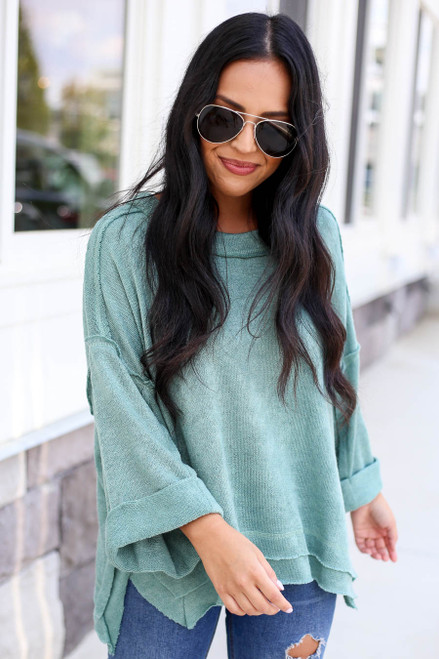 Green - Cloud Sweater