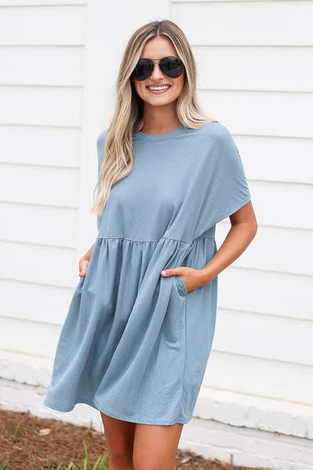 Blue - shop cute dresses at dress up