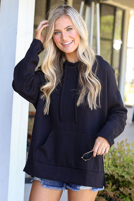 Black - Fleece Lined Hoodie from Dress Up