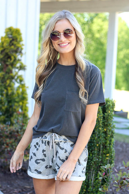 Charcoal - oversized t-shirt