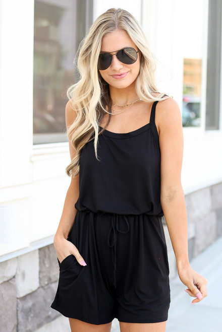 Black - cute romper at dress up