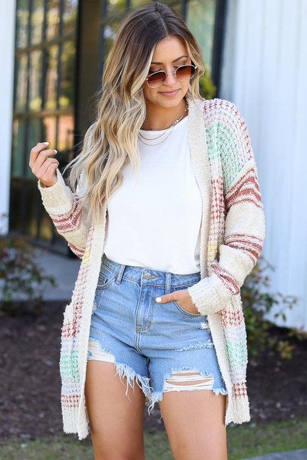 Multi - cute cardigan