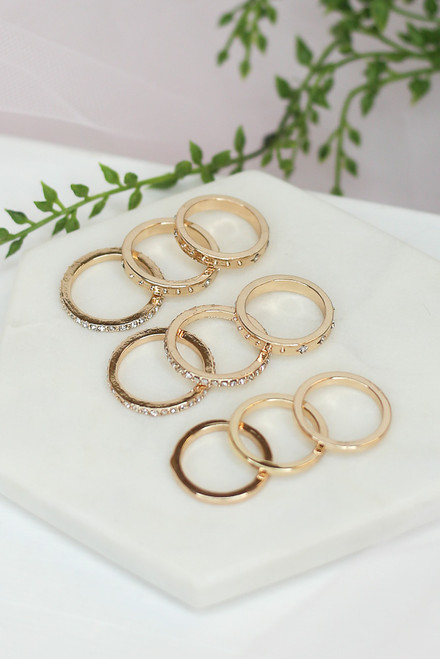 Gold - shopdressup ring sets