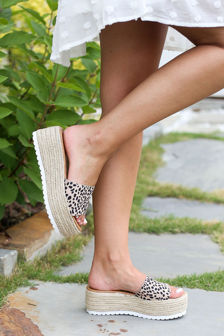 Spotted - summer platform espadrilles at dress up