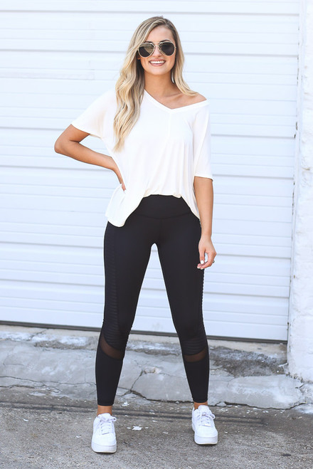 Black - Moto High-Rise Leggings