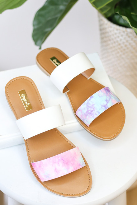 Dallas Tie-Dye Sandals