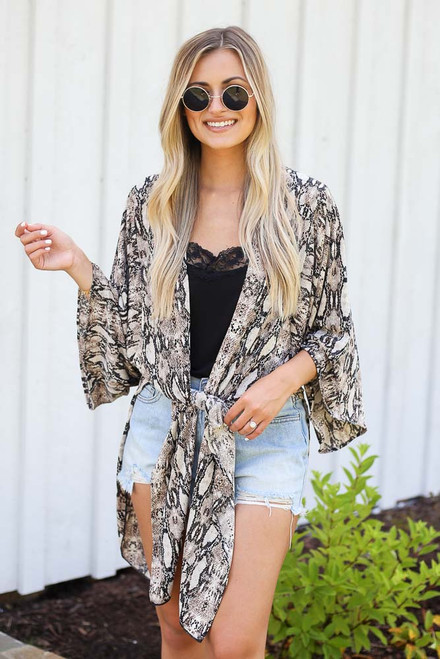 Snake - Snakeskin Kimono from Dress Up