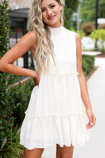 Ivory - shop cute dresses at dress up boutique