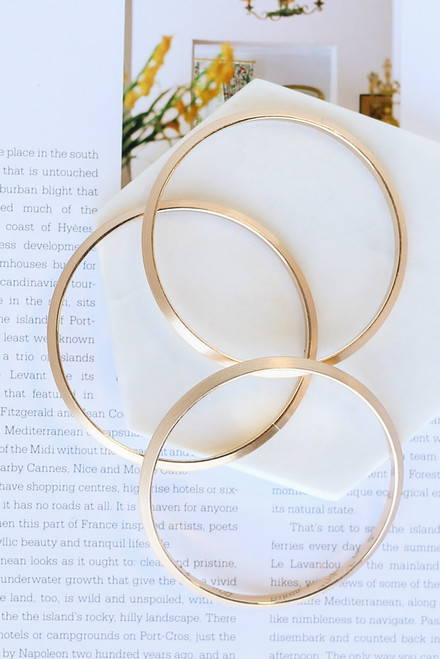Gold - cute bangle set from dress up boutique