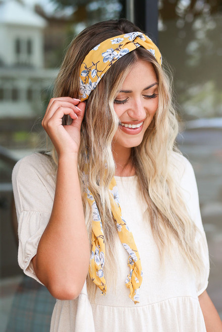Yellow - cute Floral Headband