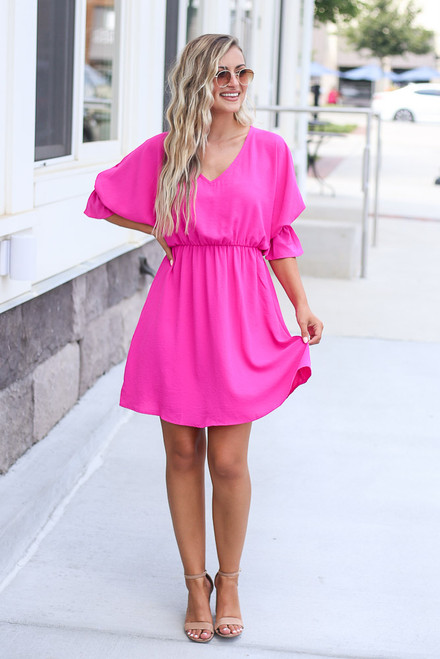 Fuchsia - shop work dresses at dress up boutique
