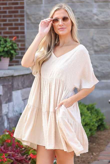 Ivory - shop cute babydoll dresses at dress up boutique
