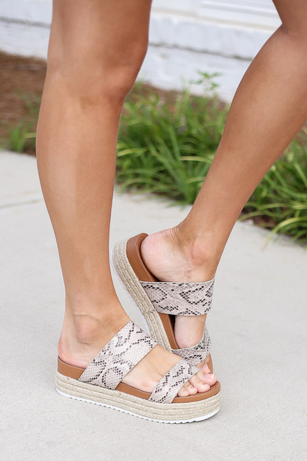 Snake - Platform Espadrilles from Dress Up Boutique