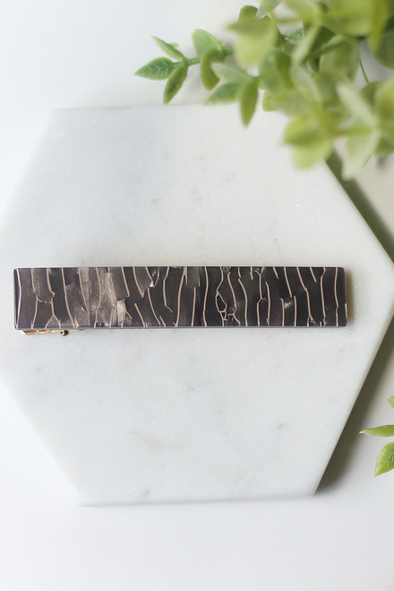 Grey - Acrylic Hair Clip from Dress Up
