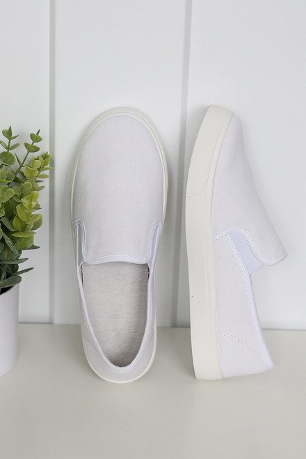 White - Slip-On Sneakers from Dress Up