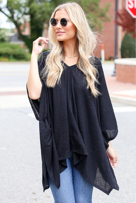 Black - Oversized Tunic from Dress Up