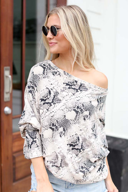 Snake - Dolman Sleeve Top